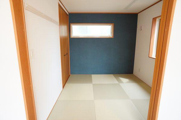 LDKに隣接した畳部屋は多目的に使えます